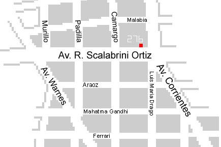 Av. Scalabrini Ortiz 276 timbre 6